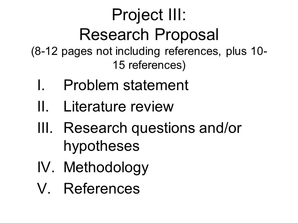 literature review in research proposal