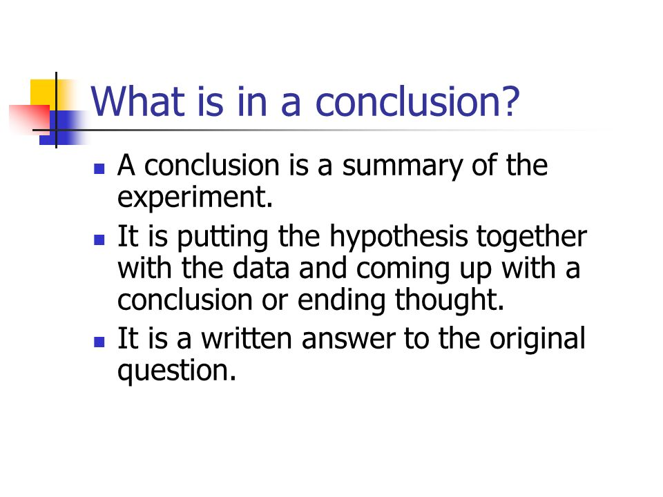 Conclusion for winkler method experiment