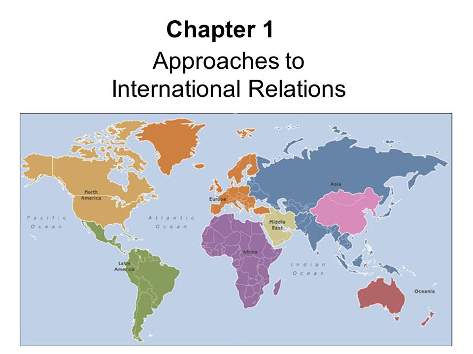 the international system and the main actors in international relations Theories of international relations ole r holsti as the central actors in the international system during other periods the primary entities may.