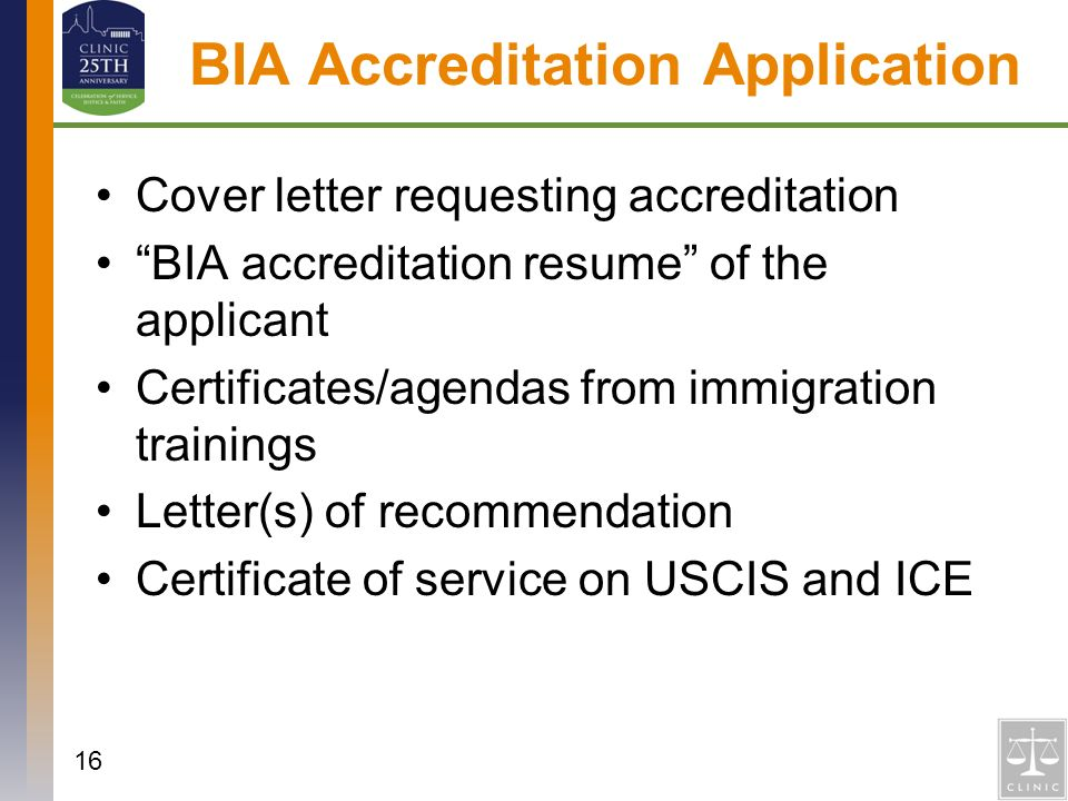 bia recognition and accreditation ppt video online download