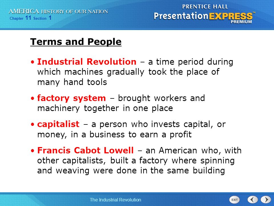 An introduction to the life during the industrial revolution period