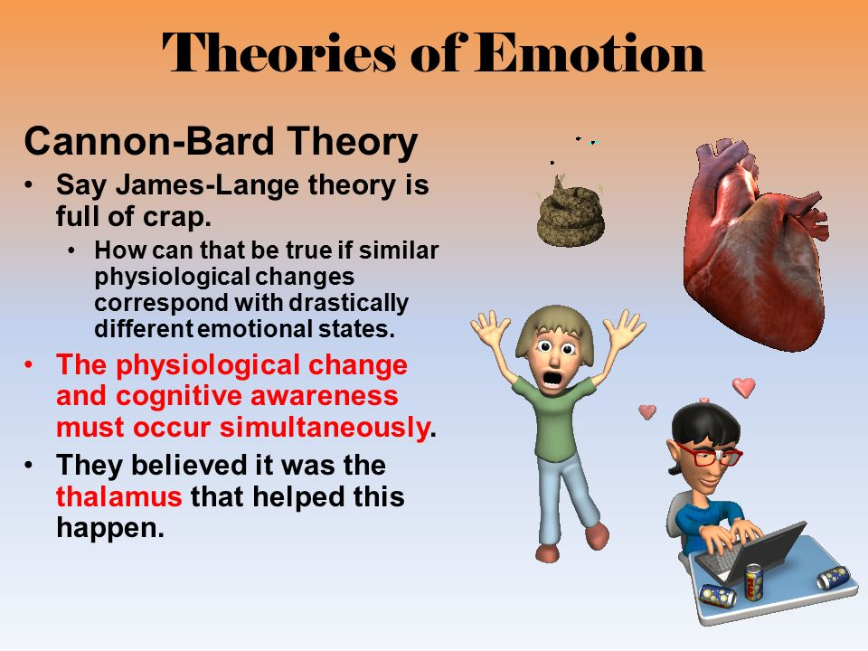 emotions emotion and cannon bard Deed, as stated by james, the conjecture that emotional feelings  auguring  schachter, she suggested that the subjective qualities of'emotion' were both a.
