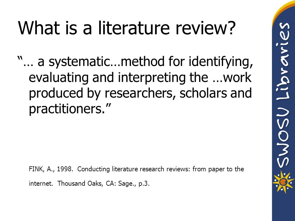 what are the steps in the process of writing a literature review Literature-based approaches to reading  though the steps of the writing process are taught and practiced from a very young age,  the writing process:.