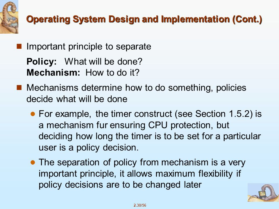 operating systems design and implementation pdf