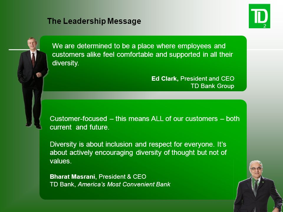 The Leadership Message