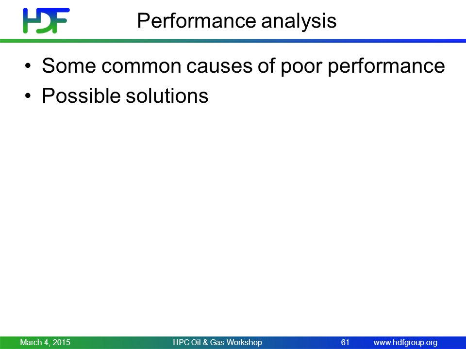 causes of poor performance of the He's a lost cause there are three reasons for poor performance: communication determine whether there are any underlying reasons for the poor performance.