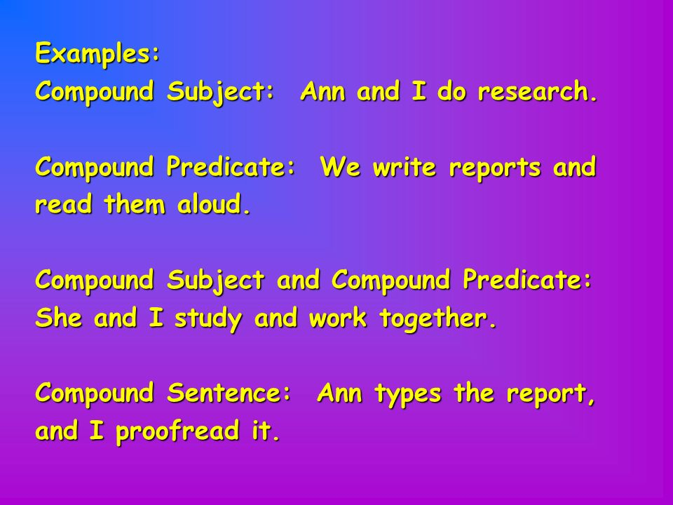 What is a Compound Predicate? Definition, Examples of Compound Predicates