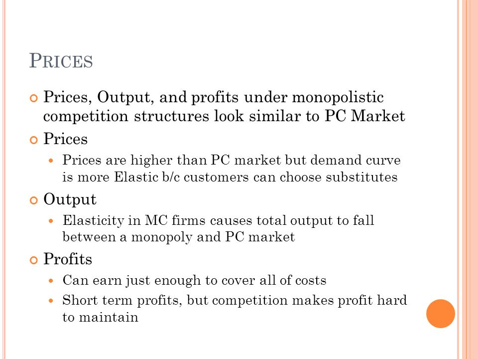 market competition essay How can the answer be improved.