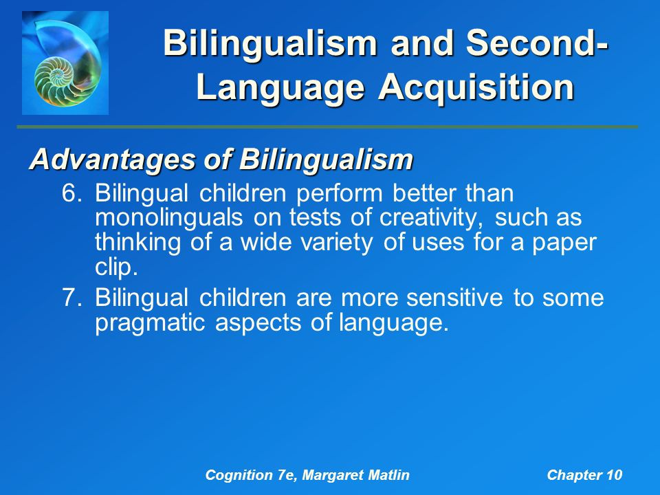 simultaneous bilingual language acquisition essay Papers & essays parenting informed by bilingualism and its types such as simultaneous bilingualism on first language acquisition, bilingual.