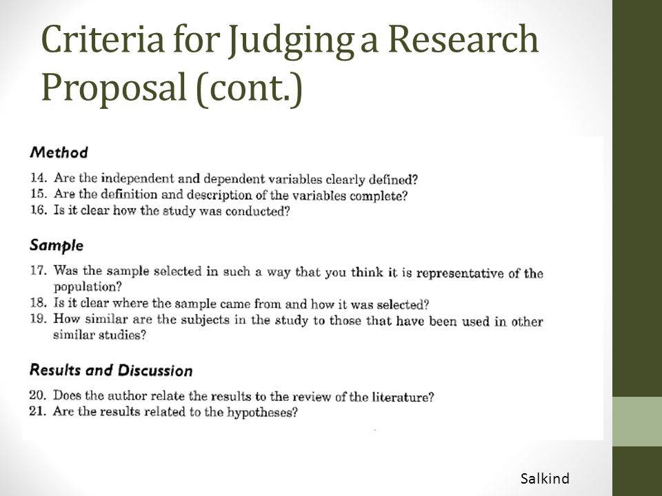reseach proposal Sample research proposals review the following sample research proposals as you review each, consider how each element in the proposal is described and explained by the researcher, consider what is included, in what order it.