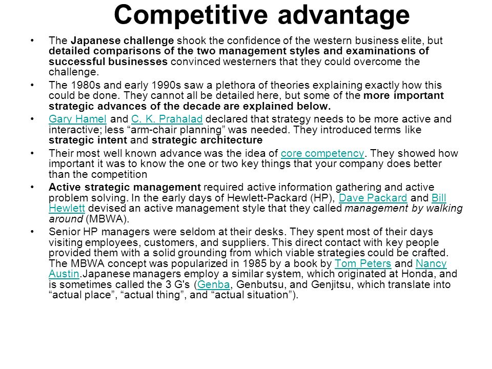 the importance of information systems in enhancing competitive advantage The role of information technology in the organization: a review,  the availability and use of information systems and  atm machines competitive advantage.