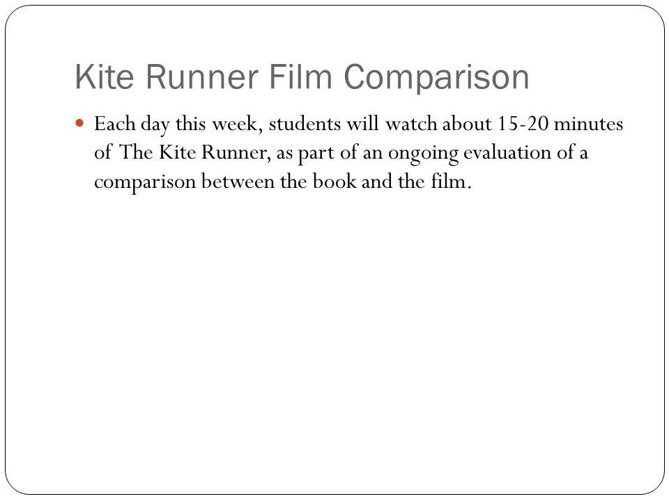 Kite Runner Film Comparison