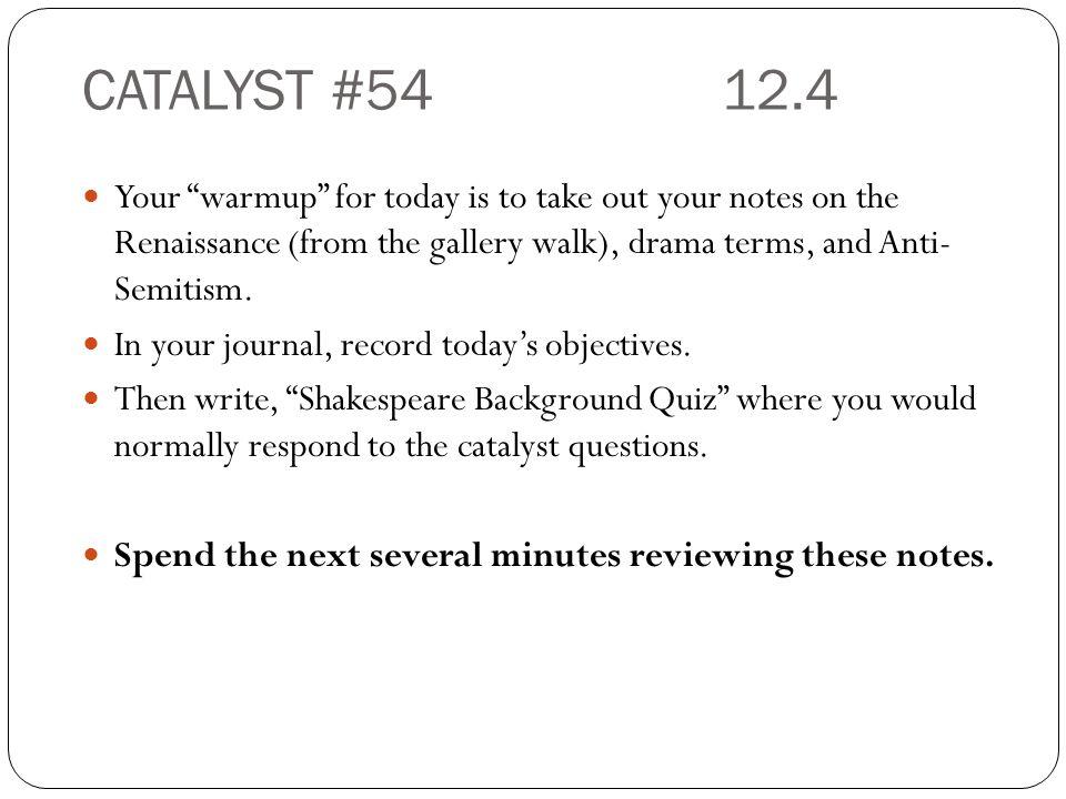 CATALYST #54 12.4