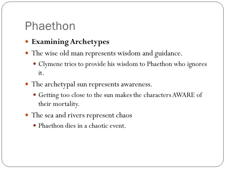 Phaethon Examining Archetypes