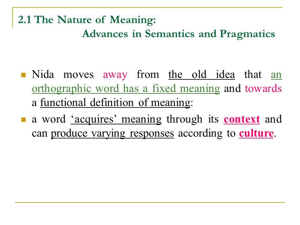 definition of pragmatics in linguistics pdf