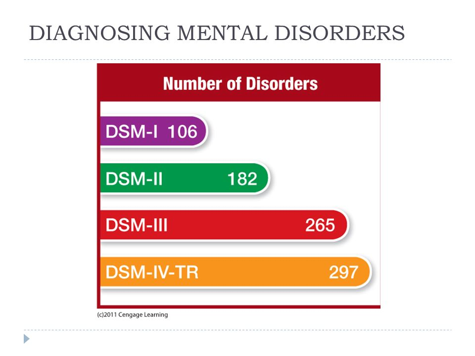 diagnosing mental disorders Diagnoses of mental disorders have skyrocketed alongside the psychatric bible's list of criteria, critics say.