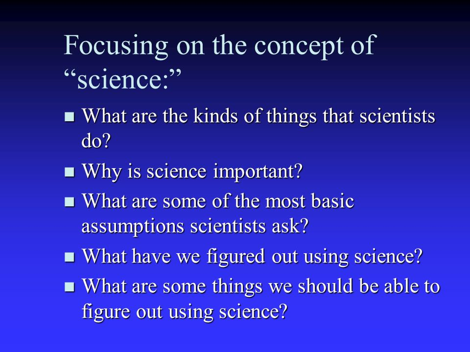 how is science different from the other fields of study Science definition, a branch of knowledge or study dealing with a body of facts or truths systematically arranged and showing the operation of general laws: the mathematical sciences.