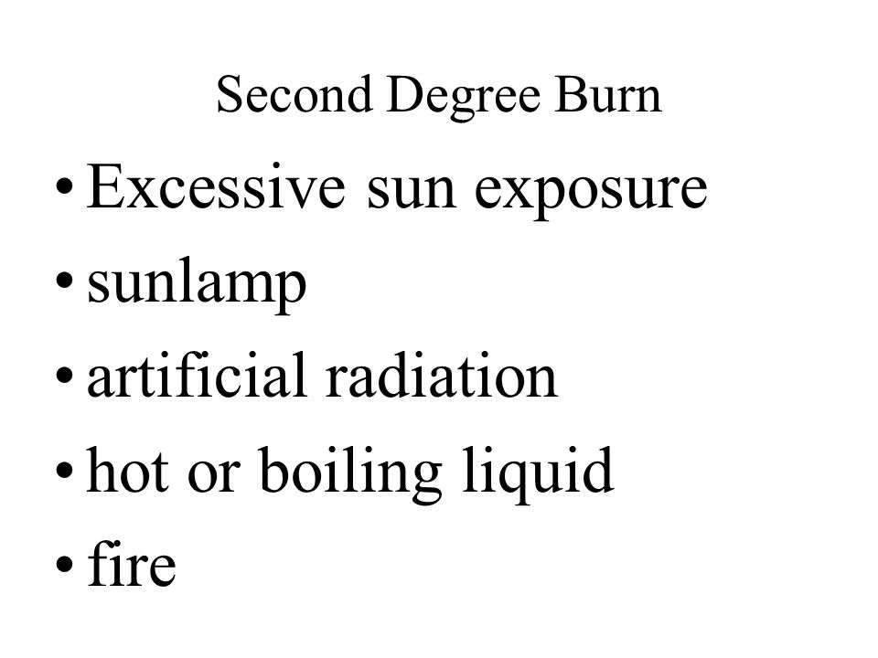 Excessive sun exposure sunlamp artificial radiation
