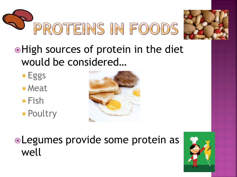 A describe ways in which protein is used in food for Protein in fish