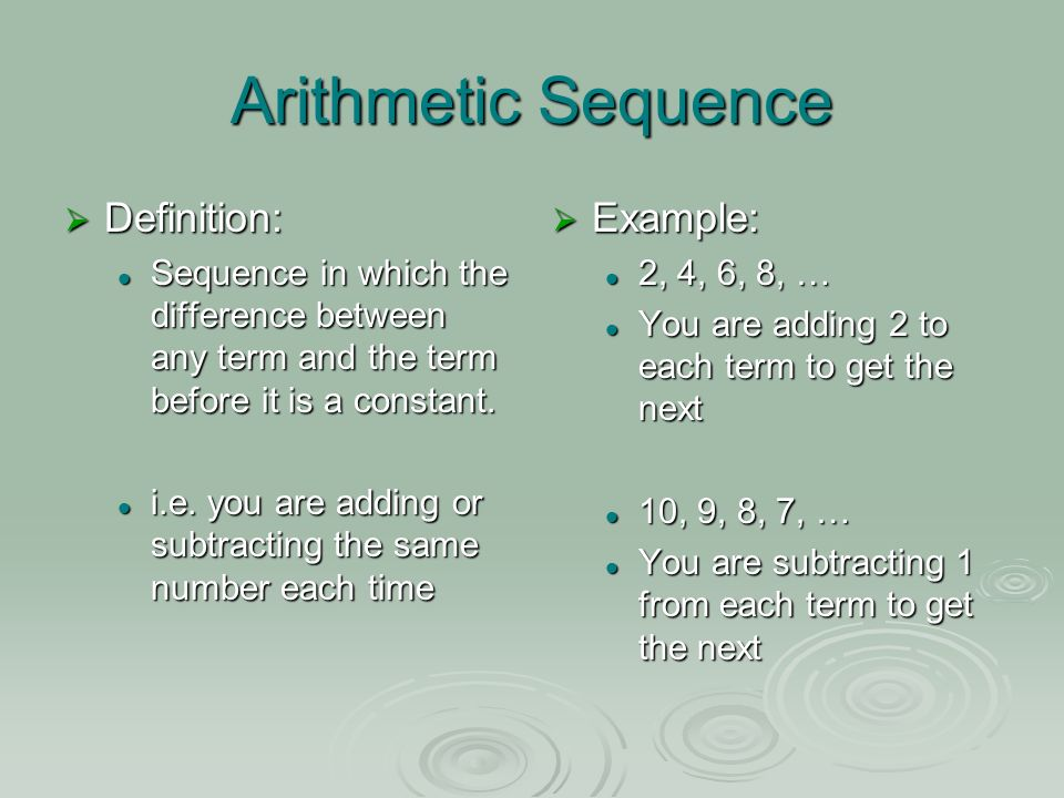 Lesson 4-4: Arithmetic and Geometric Sequences - ppt video ...