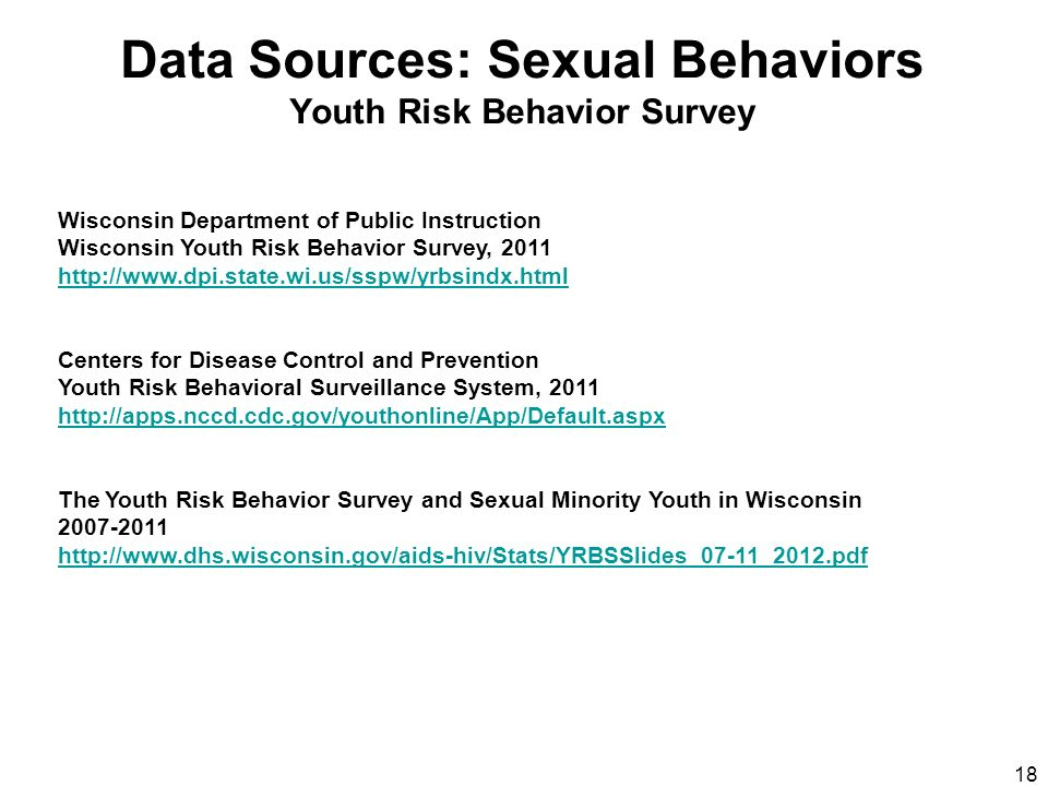 behavior in risk sexual teen