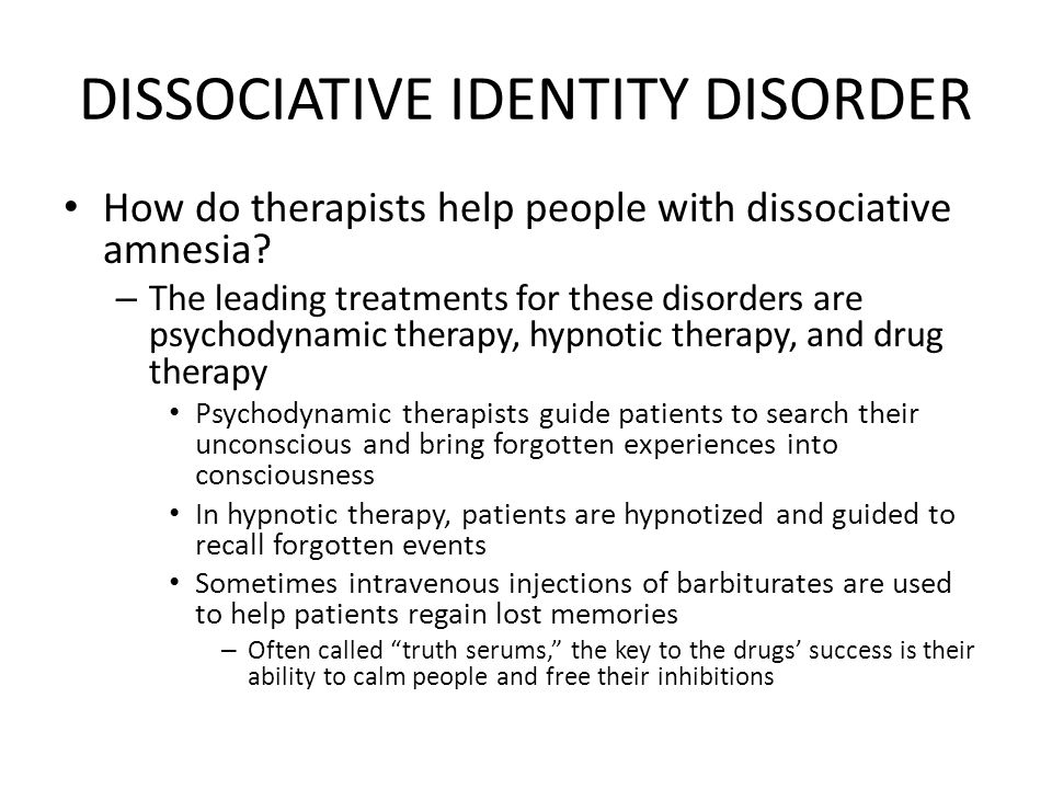 the dissociative identity disorder causes symptoms and treatment Cause and treatment dissociative identity disorder (multiple personality disorder) cause: dissociative identity disorder is caused by ongoing childhood trauma that occurs before the ages of six to nine.