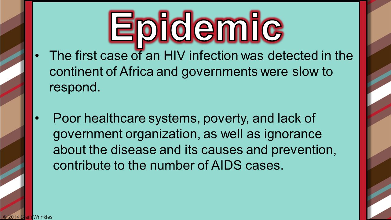 understanding aids and its cause Understanding hiv and aids  but hiv and aids is not a disease of gay men  hiv is the cause of aids the link between hiv and aids is backed up by strong.