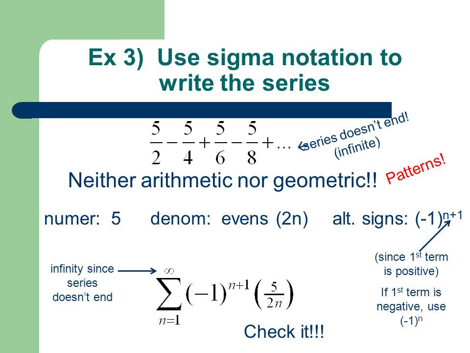 properties of sigma notation pdf