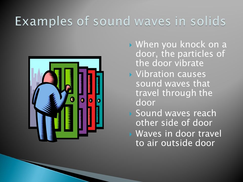 Sound now hear this ppt download for Door knocking sound