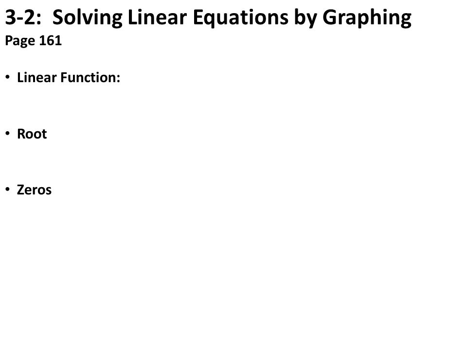 linear equation study guide 13 page workbook an end of unit study guide, this packet provides review and practice for solving systems of linear equations topics include defining systems solving systems.