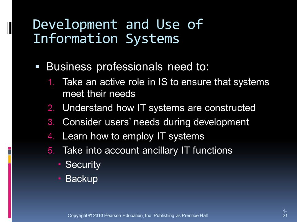 use and development of systems that Introduction a software development methodology or system development methodology in software engineering is a framework that is used to structure, plan, and control the process of developing an information system.