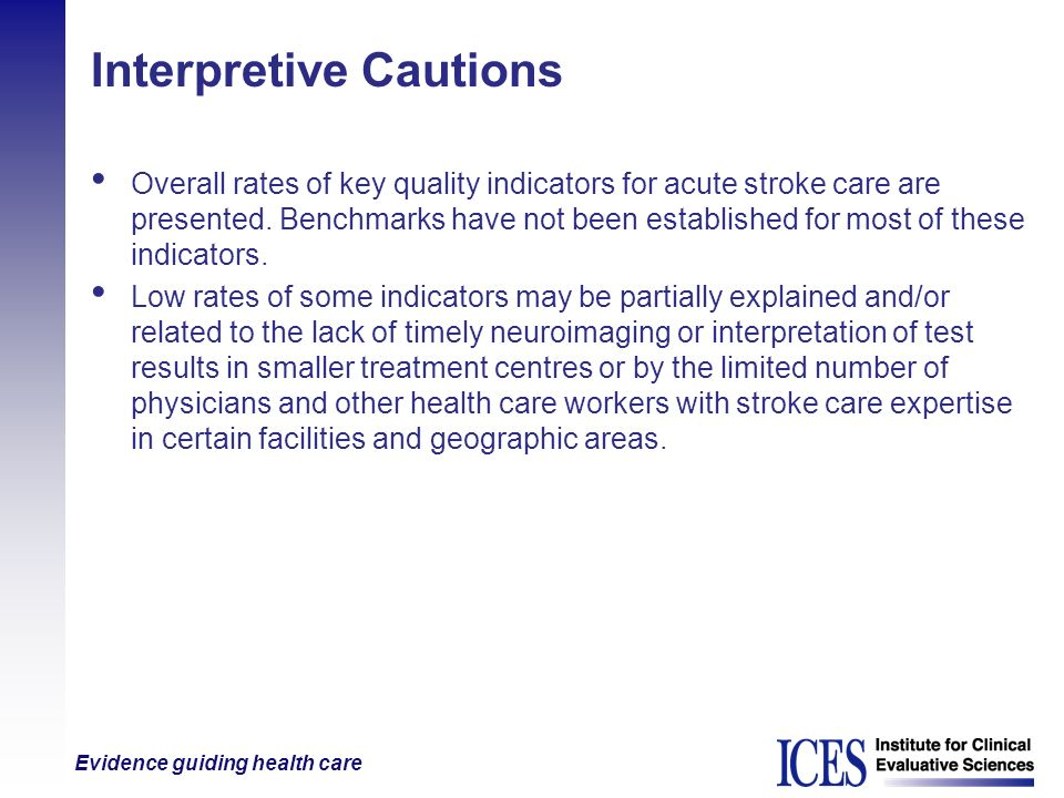 Interpretive Cautions