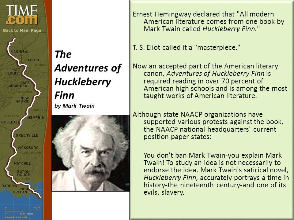 an analysis of literary devices used in the adventures of huckleberry finn by mark twain