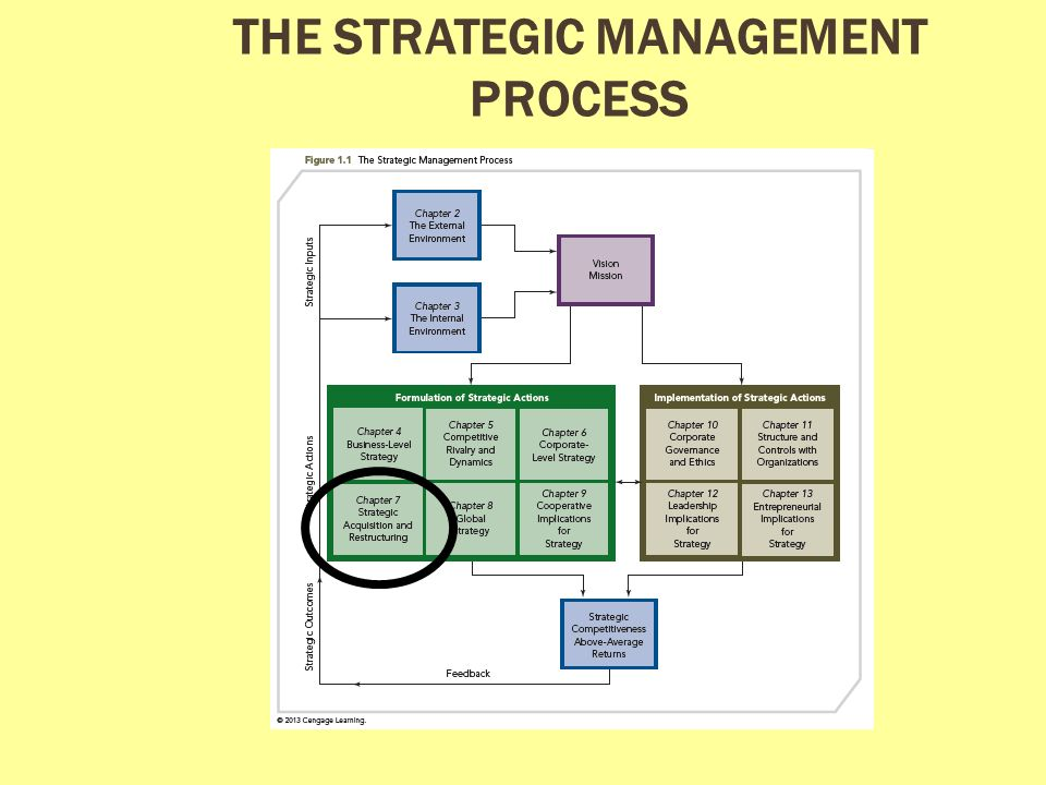 Components of the Strategic Management Process – MGT 498