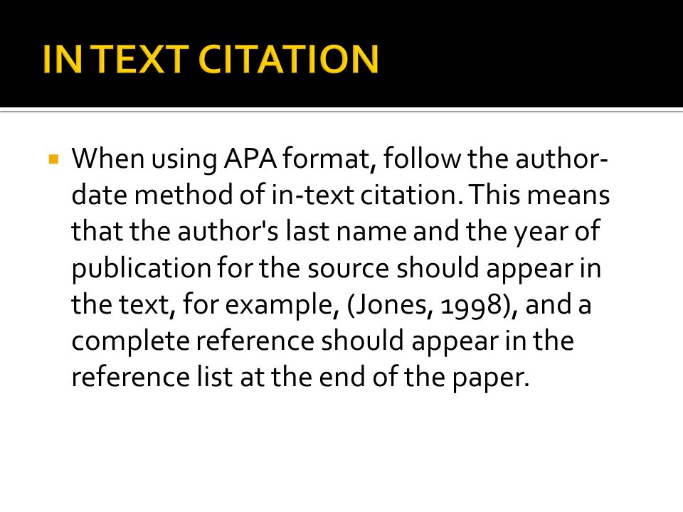apa mla citation styles ppt in text citation