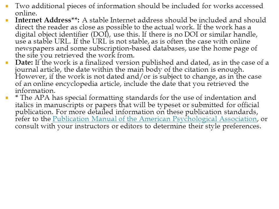 apa mla citation styles ppt