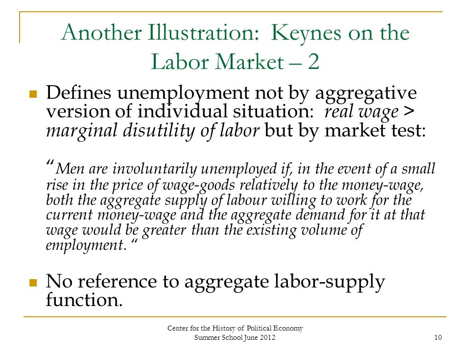 historical example for labor supply and In mainstream economic theories, the labour supply is the total hours that  workers wish to work  as, for example, the real wage rate rises, the opportunity  cost of leisure increases  g arrighi (1970) labour supplies in historical  perspective: a study of the proletarianization of the african peasantry in rhodesia  published in:.