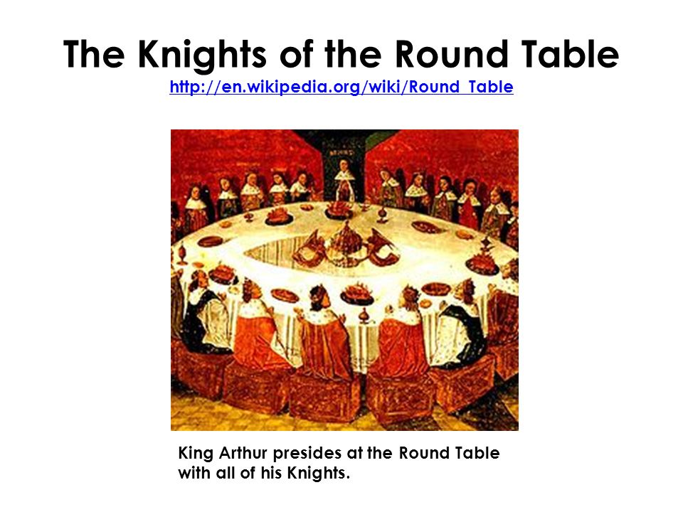 English 12 mr rinka lesson 6 ppt video online download for 10 knights of the round table