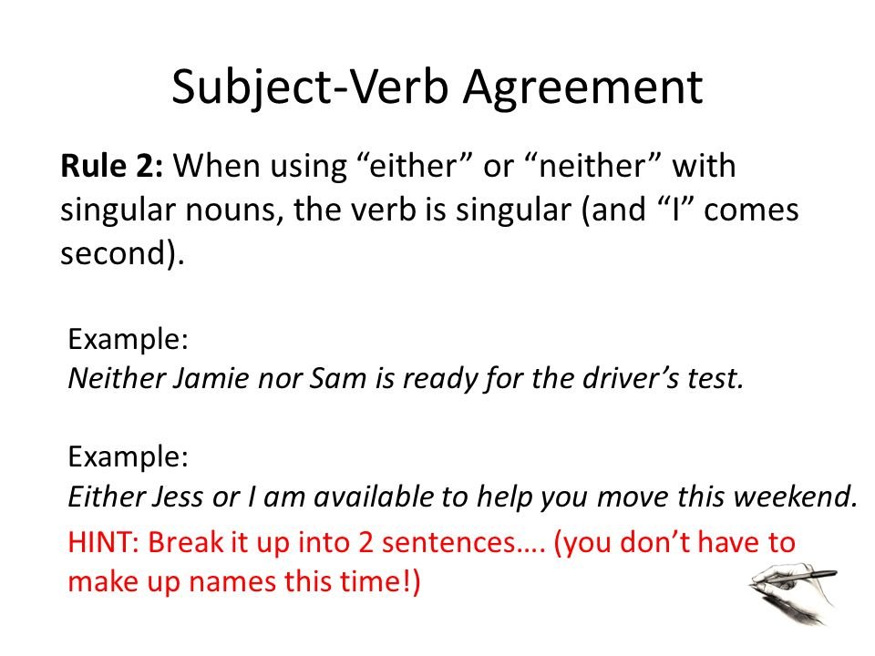 Ex Of Subject Verb Agreement Akbaeenw