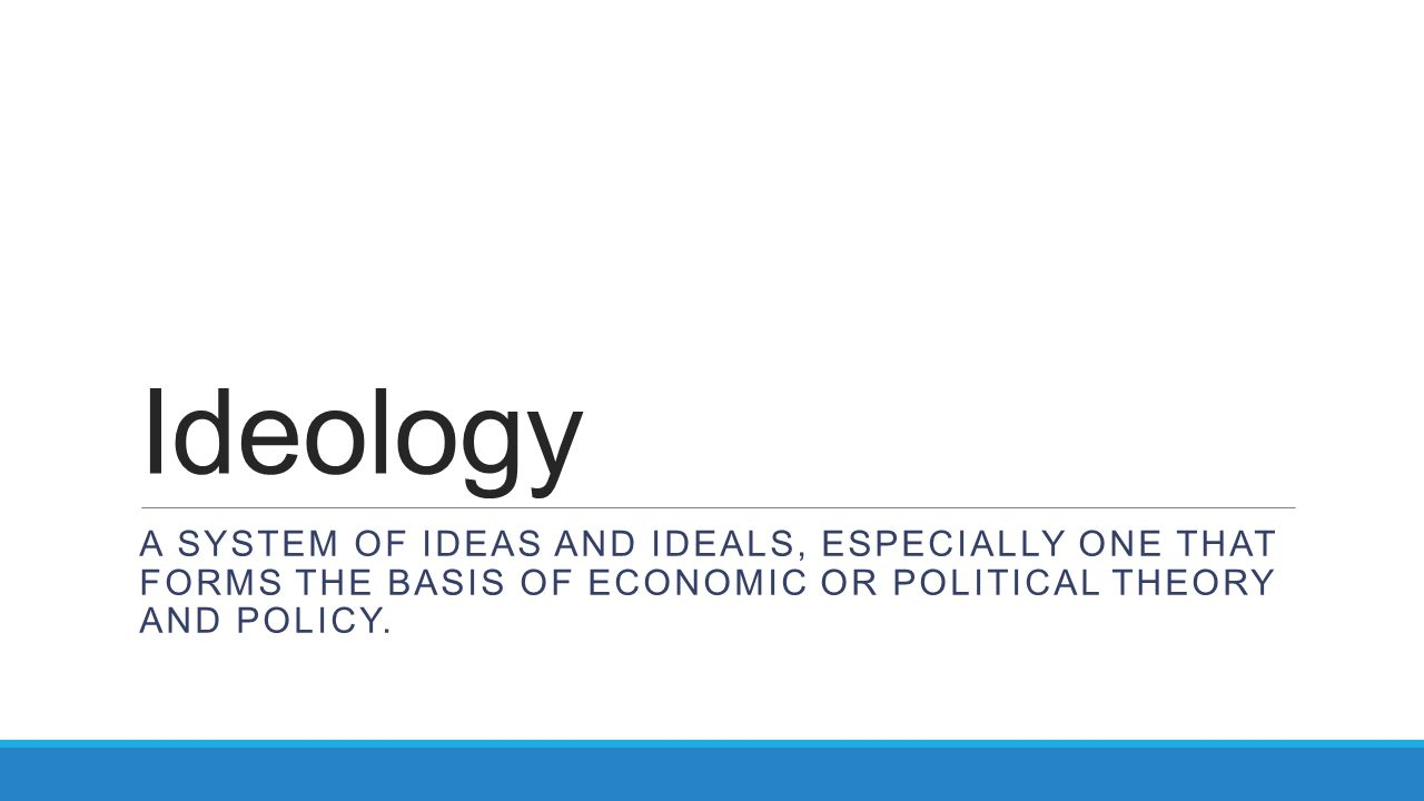 economy system and ideology as basis for policy making A discussion of the political economy of trade policy can society uses for making social decisionsio the problem posed by arrow on the basis of this.