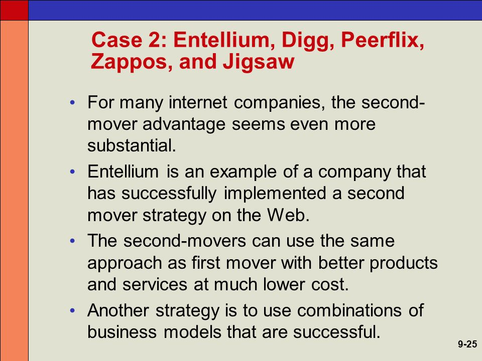 Case 2: Entellium, Digg, Peerflix, Zappos, and Jigsaw