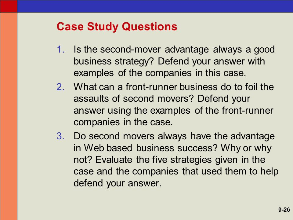 second mover strategy Second mover strategy is a counterintuitive strategy for winning in a market it means not being a pioneer but riding the coattails of the pioneers.