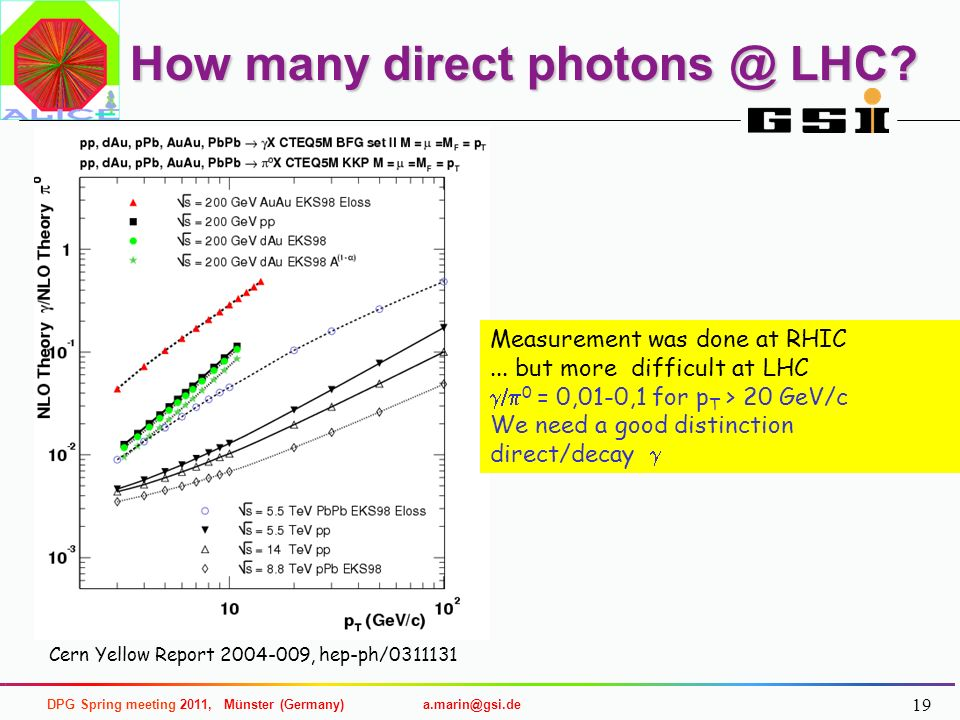 How many direct photons @ LHC