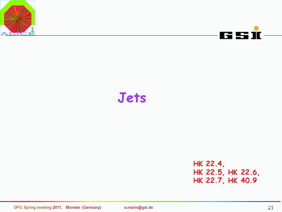 Jets HK 22.4, HK 22.5, HK 22.6, HK 22.7, HK 40.9