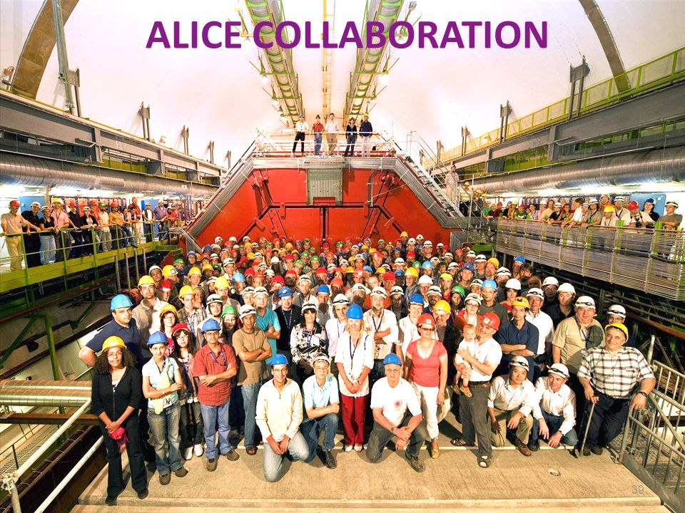 ALICE COLLABORATION 39