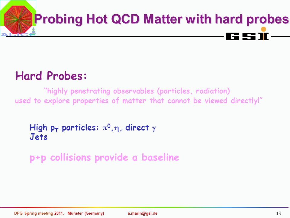 Probing Hot QCD Matter with hard probes