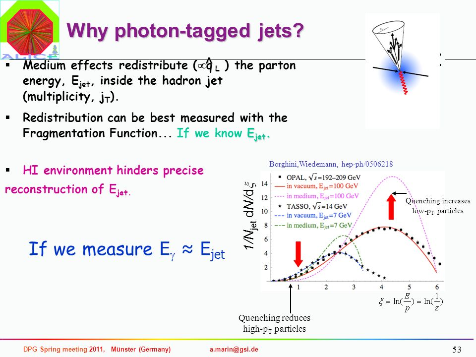 Why photon-tagged jets