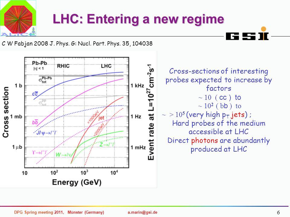 LHC: Entering a new regime