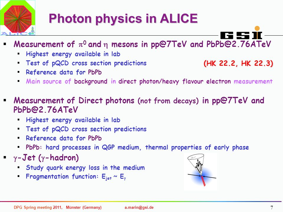 Photon physics in ALICE