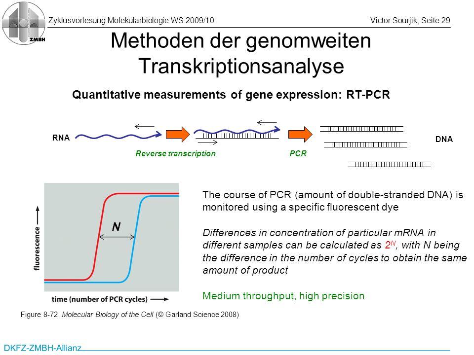 Methoden der genomweiten Transkriptionsanalyse